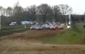 National France auto cross à Ainay-le-Château (03)